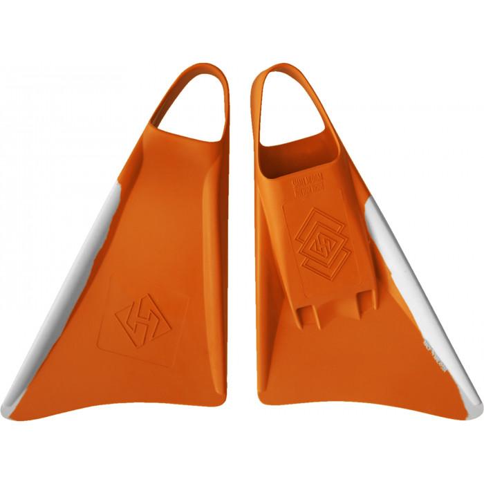 Palmes Hubboards Hubb Fins - Orange/Blanc