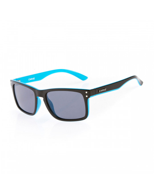 Lunettes Carve Goblin Black/Blue Polarized