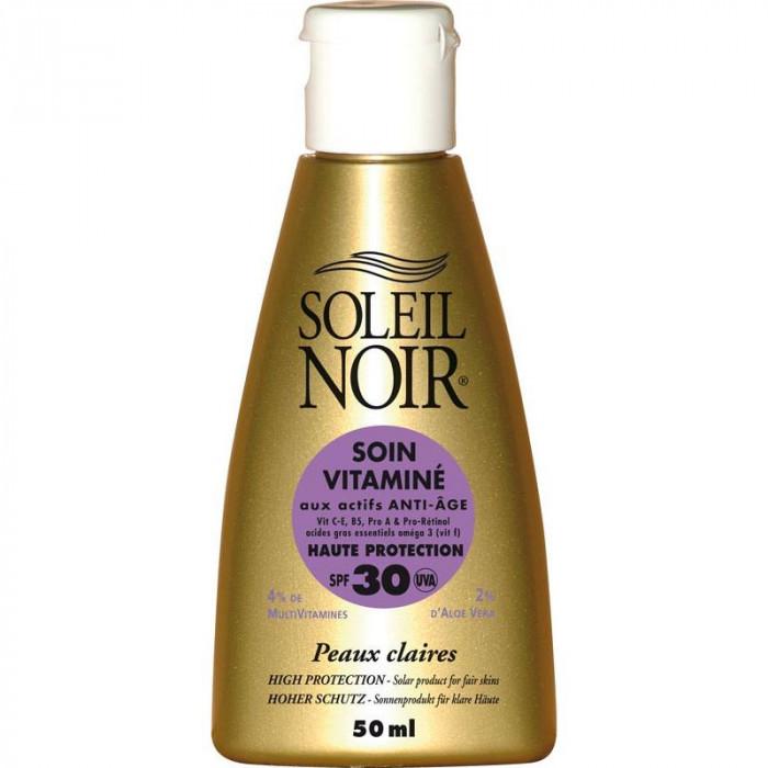 SOIN VITAMIN 30 HAUTE PROTECTION SOLEIL NOIR