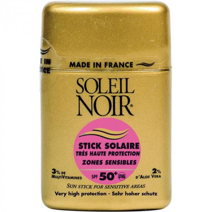 STICK SOLAIRE ZONES SENSIBLES IP 50+ SOLEIL NOIR