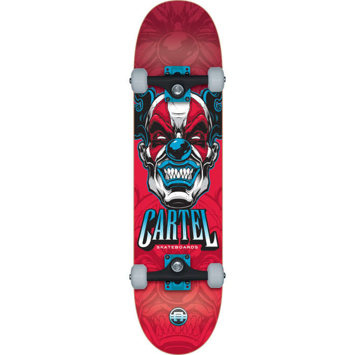 "SKATE COMPLET CARTEL 8"" THIS RED"