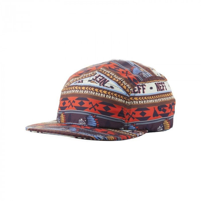 CASQUETTE NEFF CRAZY CAMPER CAP ORange