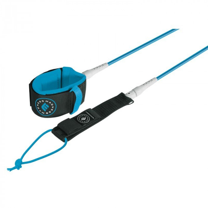 LEASH MADNESS CHEVILLE 8' LONG UNLIMITED 7MM BLUE