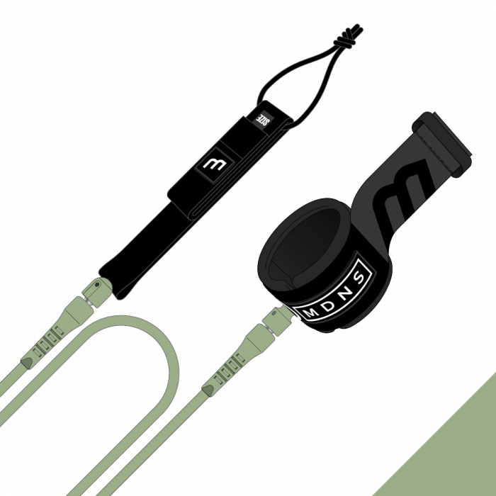 Leash MADNESS cheville 6' REGULAR UNLIMITED 7MM Sage