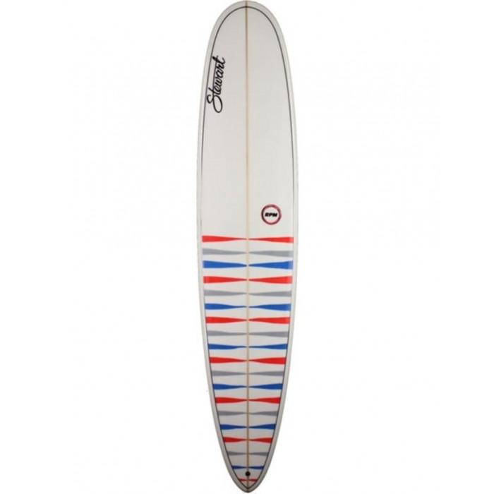 """PLANCHE DE SURF STEWART LONGSTEWART 9'0""""  WHITE"""