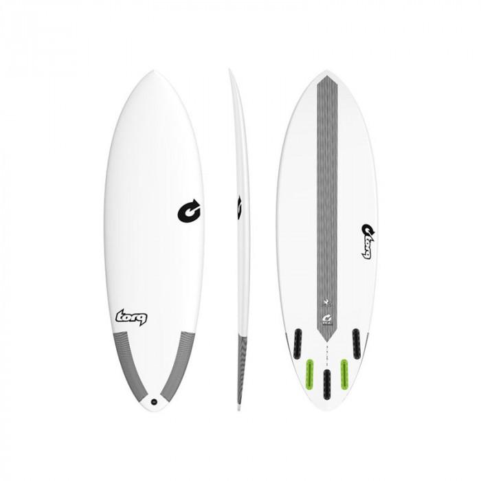 """PLANCHE DE SURF TORQ 6'0"""" HYBRIDE TEC WHITE"""