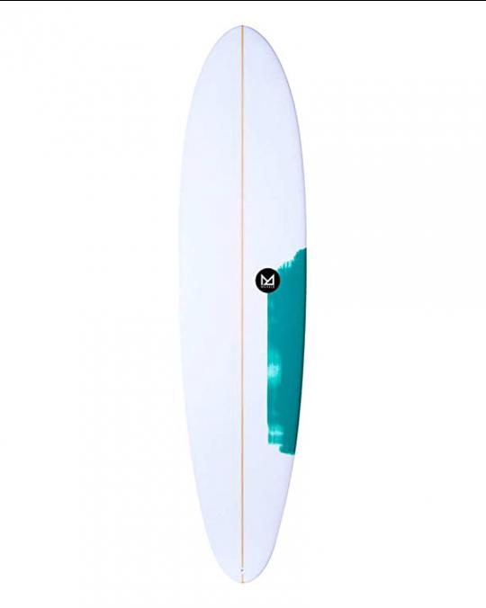 Planche de surf  Mahalo Moana fun 7'6 white/fluro aqua