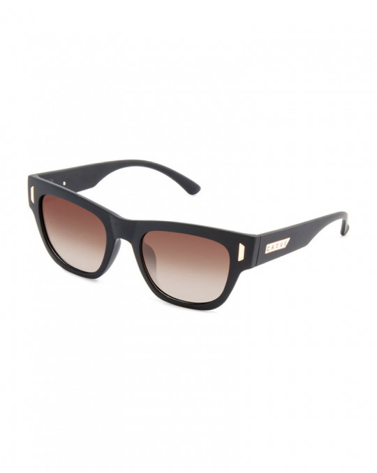 Lunettes Carve Marley Casino Collection Matt Black Brown Polarisé