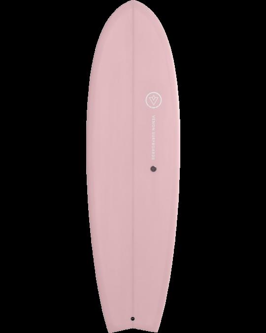 """Planche de surf VENON SPECTRE FISH 6'3"""" Powder Pink"""