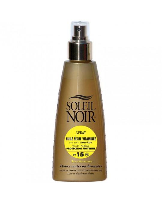 Huile sèche 15 spray vitamine SOLEIL NOIR