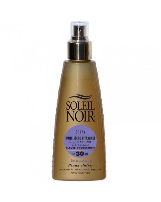 Huile sèche 30 spray vitamine SOLEIL NOIR