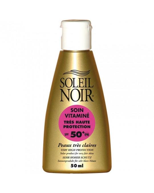 Soin vitamin 50 très haute protection SOLEIL NOIR