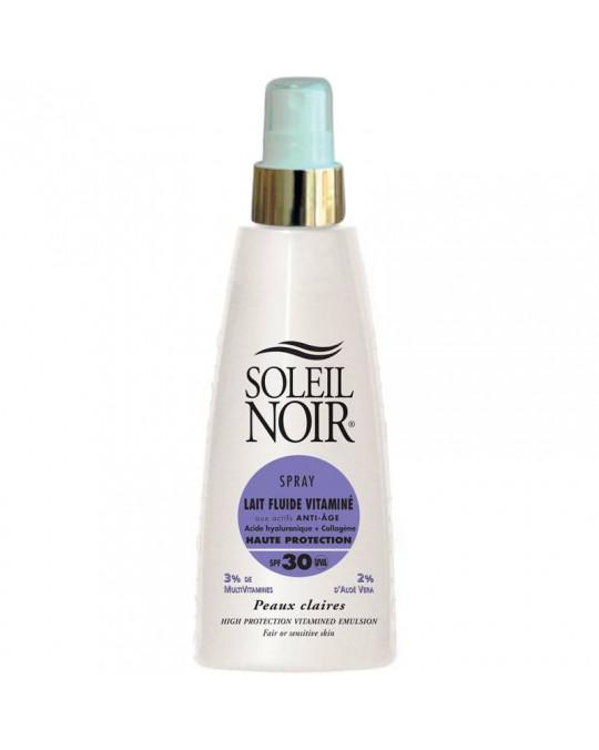 Spray lait 30 fluide vitamine SOLEIL NOIR