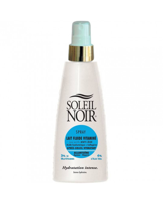 Spray lait fluide vitamine after sun SOLEIL NOIR