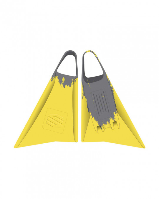 Palmes bodyboard SNIPER MENACE Yellow/Grey