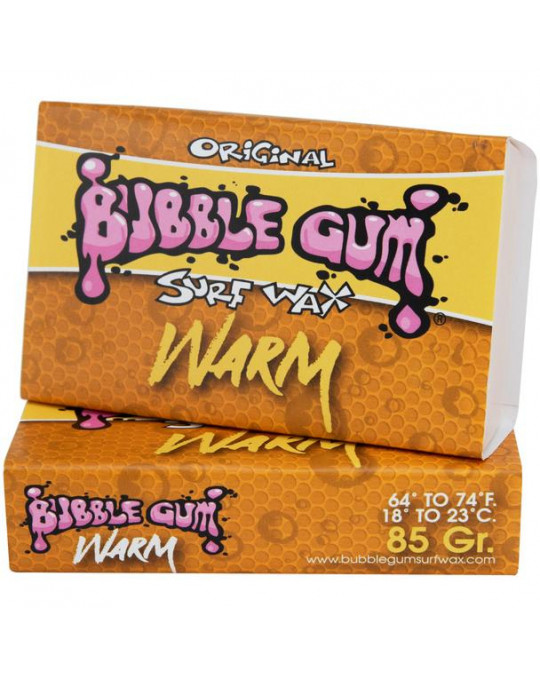 Wax Bubble Gum Orange Warm 18-23°