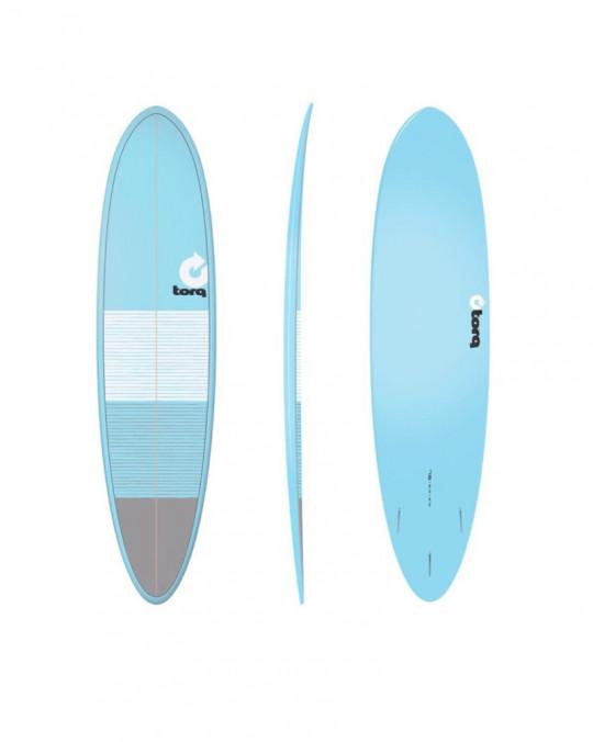 """Planche de surf TORQ 7'6"""" FUNBOARD Lines Blue Grey"""