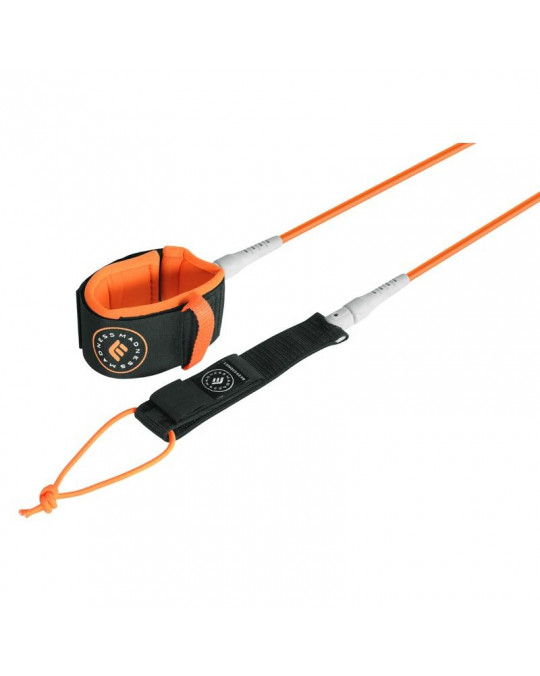 Leash MADNESS cheville 8' LONG UNLIMITED 7MM orange
