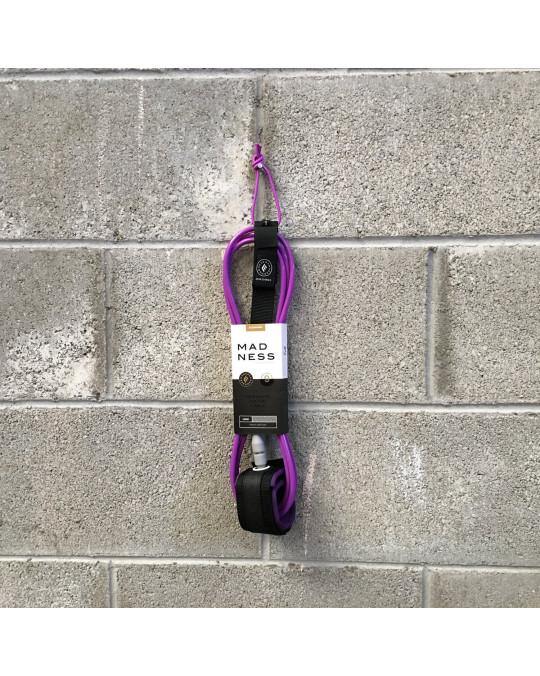 Leash MADNESS LONG LEASH ANKLE 9'0 7mm Purple