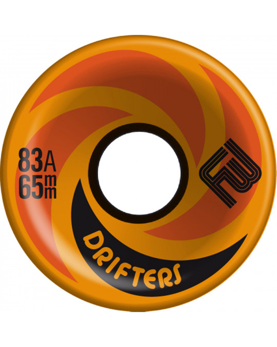 Roues longskate FLYING WHEELS DRIFTERS 65X45 orange
