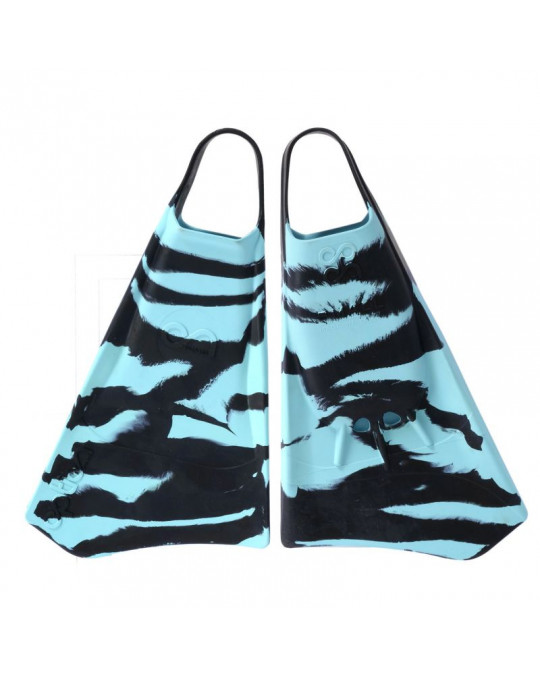 Palmes Bodyboard Option Zebra Black/Cyan