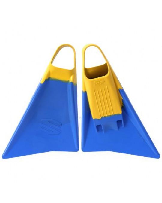 Palmes bodyboard SNIPER MENACE Blue/Yellow