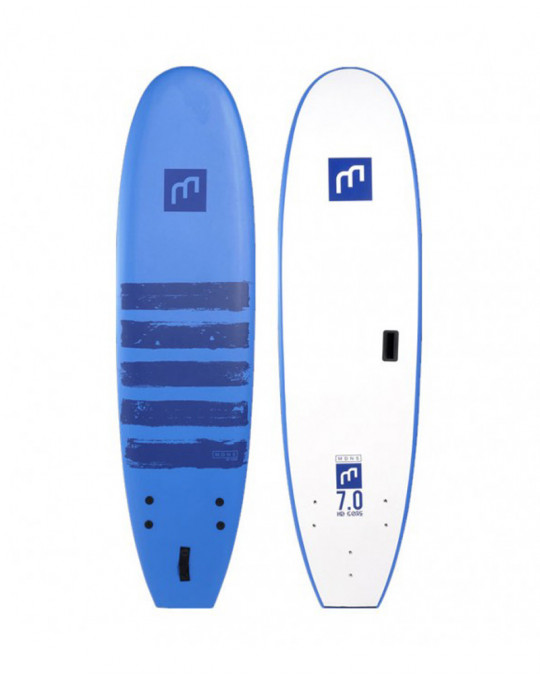 Planche de surf Madness HD core 7'0 Paint lines royale blue