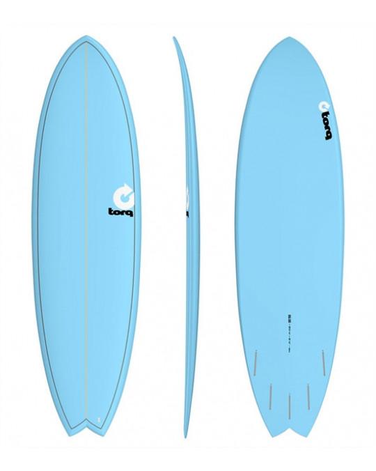 TORQ  Planche Fish Color TET 6'6 - Bleu