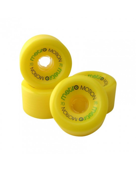 METRO WHEELS MOTION 70 - yellow