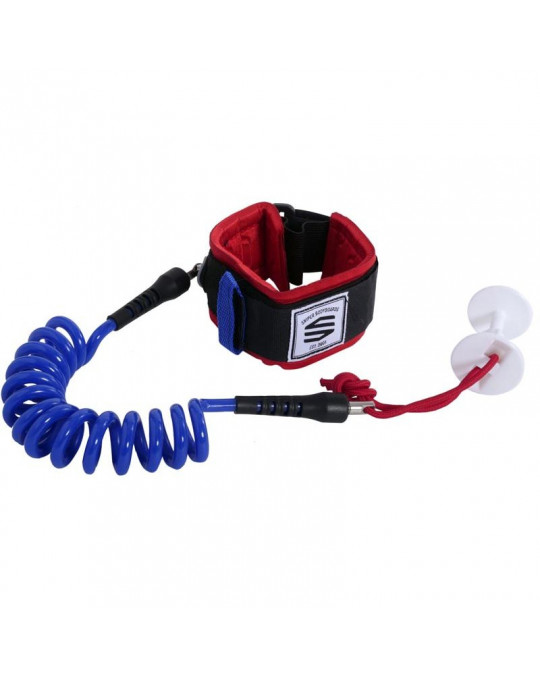 Leash Sniper Biceps MOZ - Navy/Red - S/M
