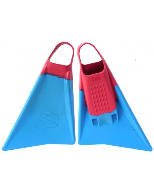 Palmes bodyboard SNIPER MENACE Cyan/Pink