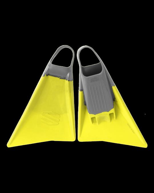 Palmes bodyboard SNIPER MENACE Yellow/Grey
