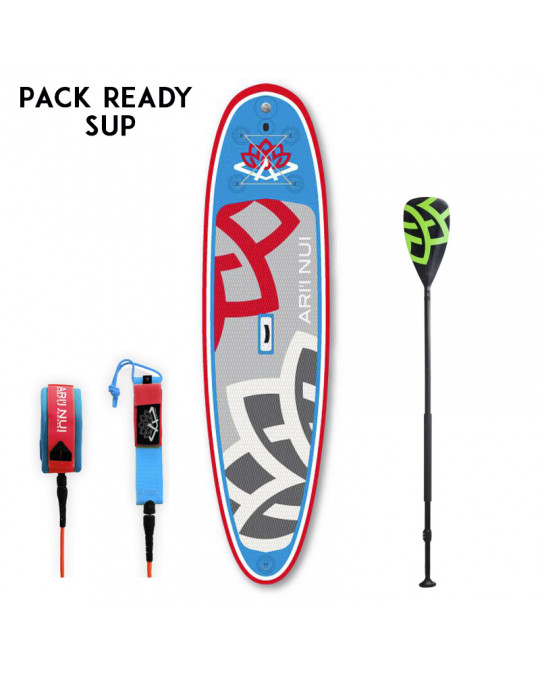 Pack Ready SUP Fuse + Leash / Pagaie ARI INUI