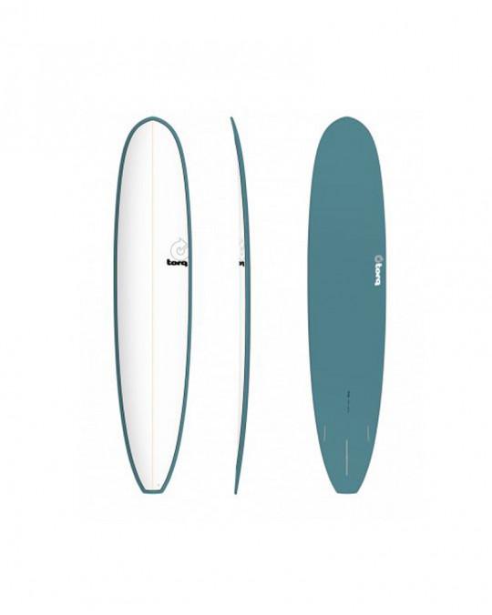 "Planche de surf 9'6"" PINLINE TORQ EPOXY LONGBOARD white/green"