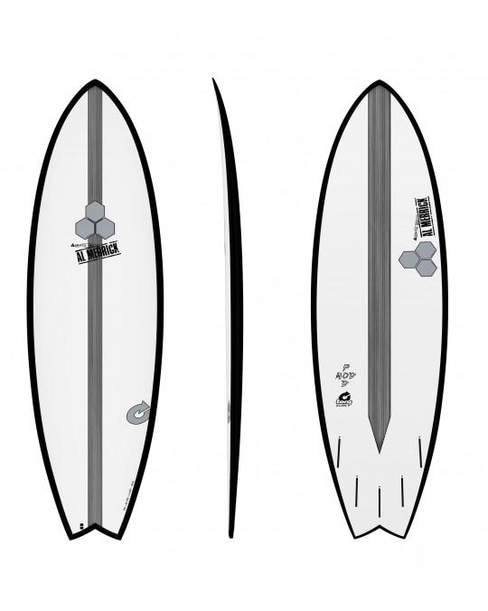 """Planche de surf TORQ 5'6"""" CI Pod Mod Black Rail"""