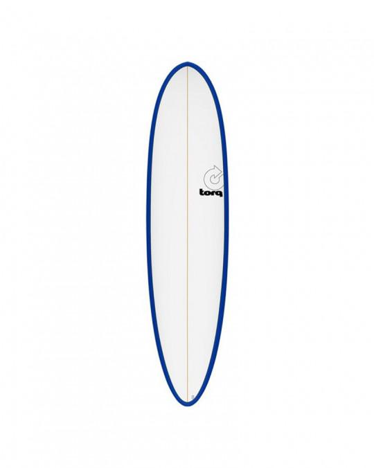 """Planche de surf 6'8"""" PINLINE TORQ White/Navy Blue"""