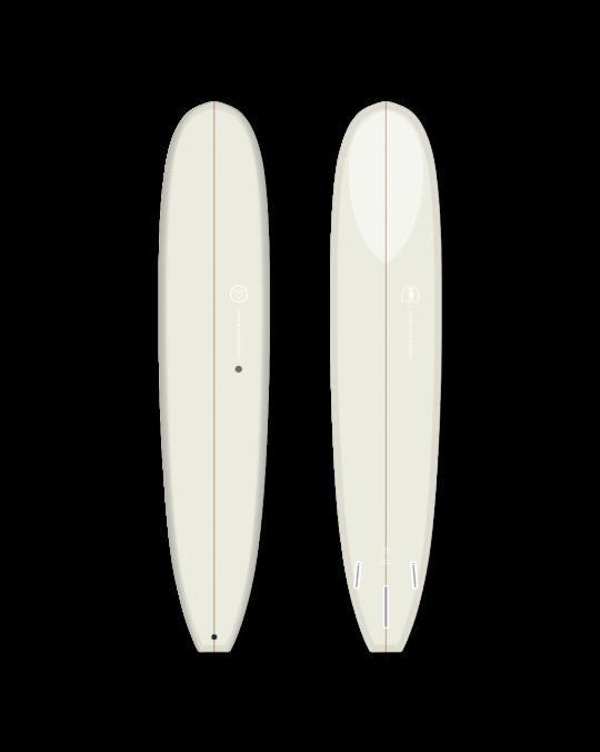 """Planche de surf VENON LOG 9'3"""" Pastel Cream"""