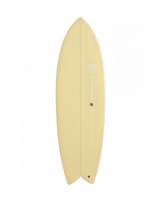 "Planche de surf VENON NOD FISH 5'11"" Yellow"
