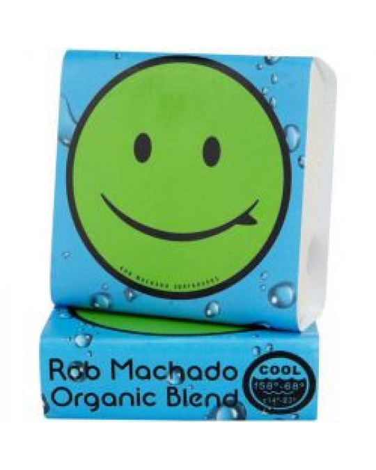 Wax Bubble Gum Machado Organic Cool water 14°-20°C Blue