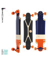 Longboard Flying Wheels Mustang Sally 38,5""