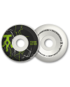 ROUES SKATEBOARD FLESH AGENCY BLACK/GREEN